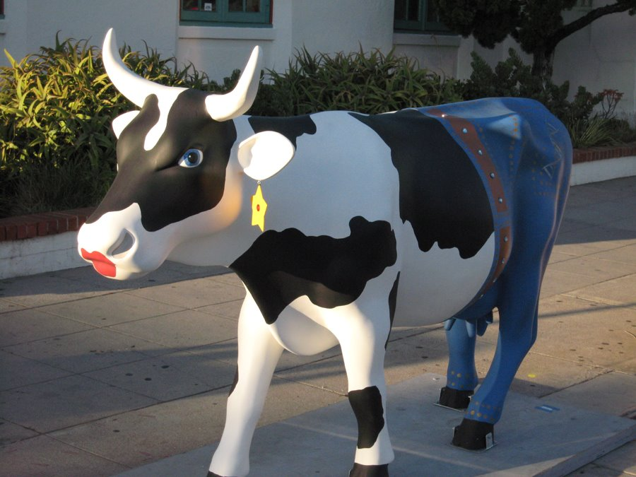 Cow parade La Jolla - Cow Art