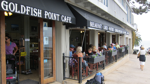 Goldfish Point Cafe Offers A Great Ocean View