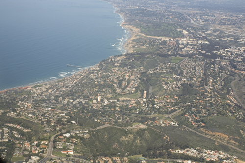 La Jolla Shores Aerial photo