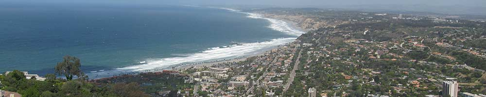 La Jolla Shores Coastline