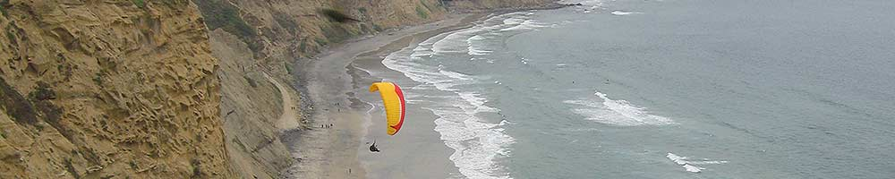 Paraglider La Jolla