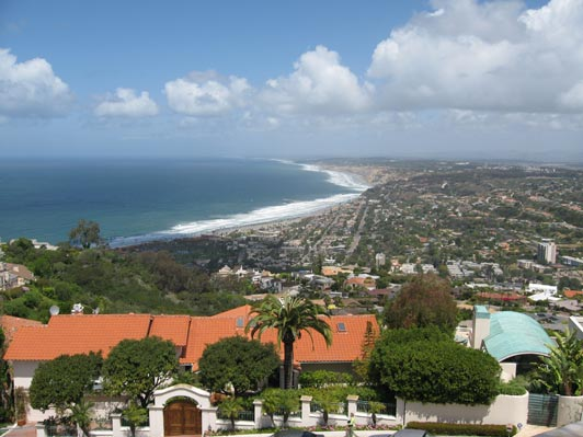"La Jolla's ""awesome"" sweeping coastal view."