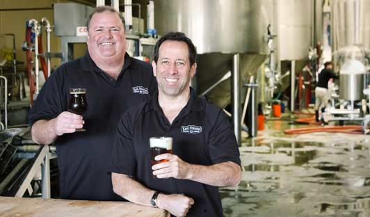 Chris Cramer and Matt Rattner started Karl Strauss Brewing Company when they were fresh out of college.