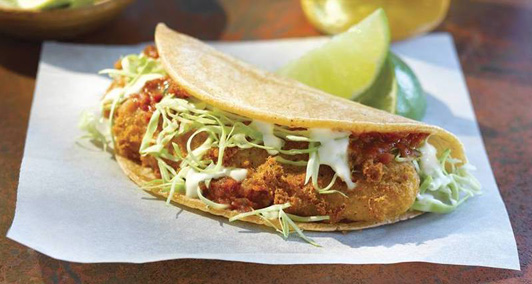 Best food on the go? Rubio's fish tacos.