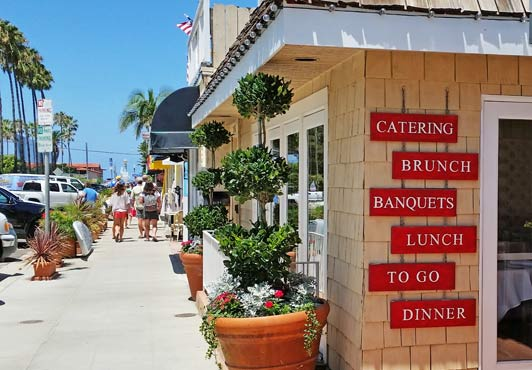 San Diego's best neighborhood restaurants are in La Jolla Shores.
